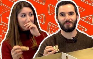 Probamos la nueva pizza de bombones del Telepizza... ¿Sobreviviremos?