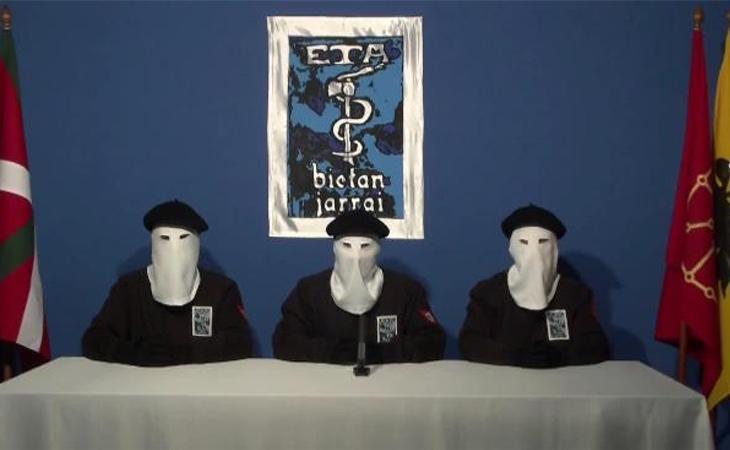 ETA anunció el cese de su actividad armada en 2011