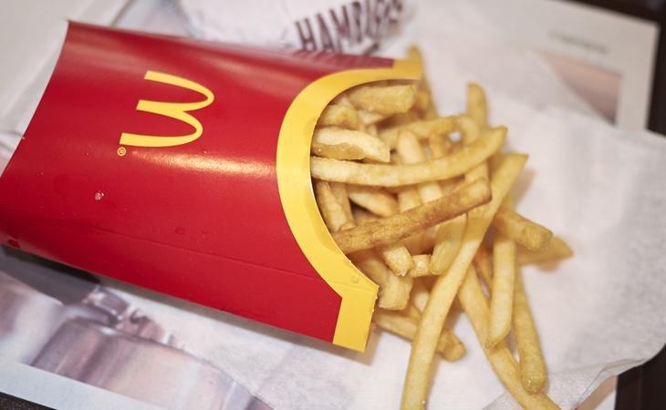 Las patatas fritas del McDonald's contienen contienen dimetilpolisiloxano