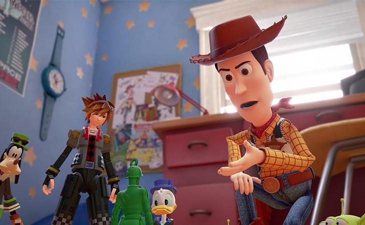 En 'Kingdom Hearts III' nos colaremos en el mundo de 'Toy Story'