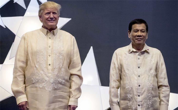 Duterte ha mejorado las relaciones con EEUU tras la llegada de Donald Trump
