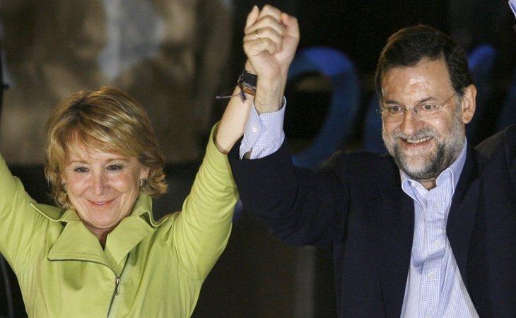 Rajoy advirtió a Aguirre sobre las presuntas corruptelas de Ignacio González