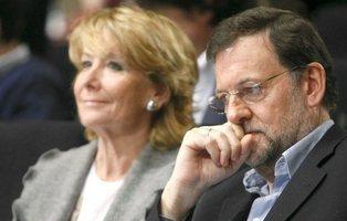 """Rajoy a Aguirre: """"Haz caso al paleto (Granados) y no al sinvergüenza de tu nº2 (González)"""""""