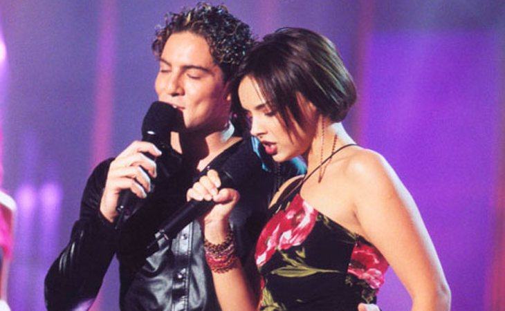 Chenoa y Bisbal protagonizan la gran pareja de la historia de 'OT'