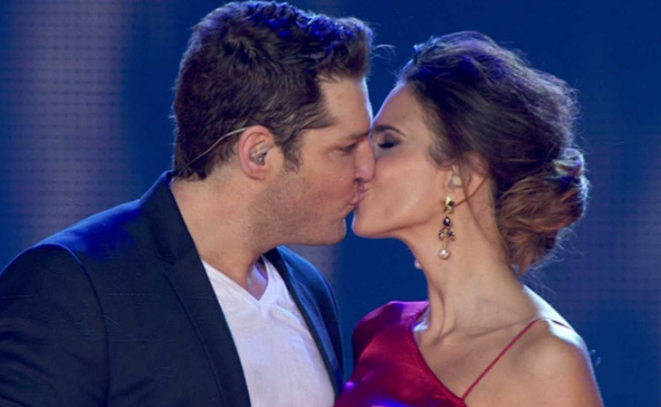 El beso en el reencuentro fue todo un flashback