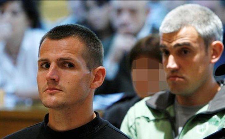 Martín Sarasola Yarzábal e Igor Portu durante el juicio