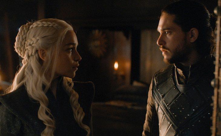 Daenerys y Jon Snow consolidaron su relación en la séptima temporada de 'Juego de tronos'