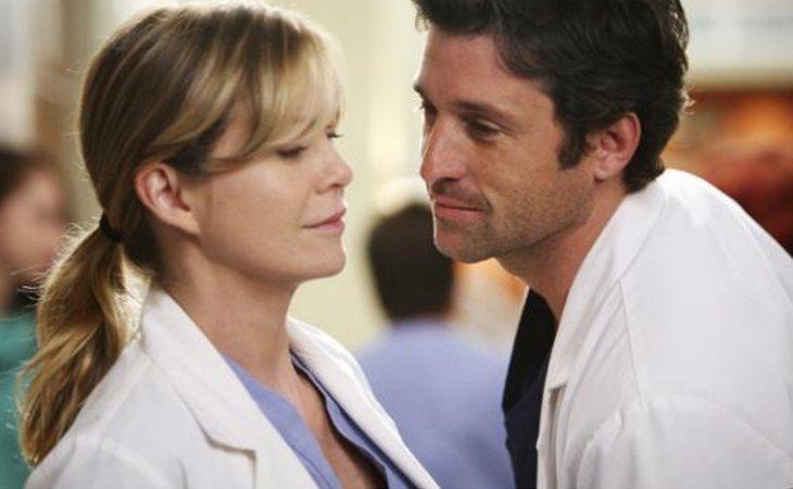 Meredith y Derek vivieron su apasionante historia de amor entre batas y quirófanos