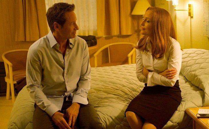 Tras empezar como compañeros de trabajo, el amor surgió entre Mulder y Scully