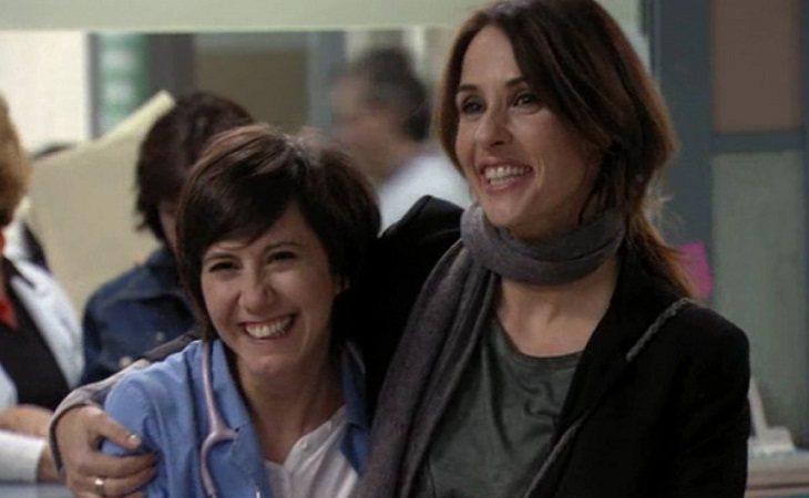 Maca y Esther formaron una de las primeras parejas homosexuales que vimos en una serie de televisión