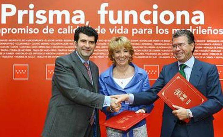 Aguirre colocó a personas de confianza y a sus órdenes en varias empresas vinculadas a la corrupción