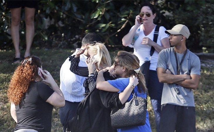 Alumnos y profesores vivieron momentos angustiosos dentro del instituto