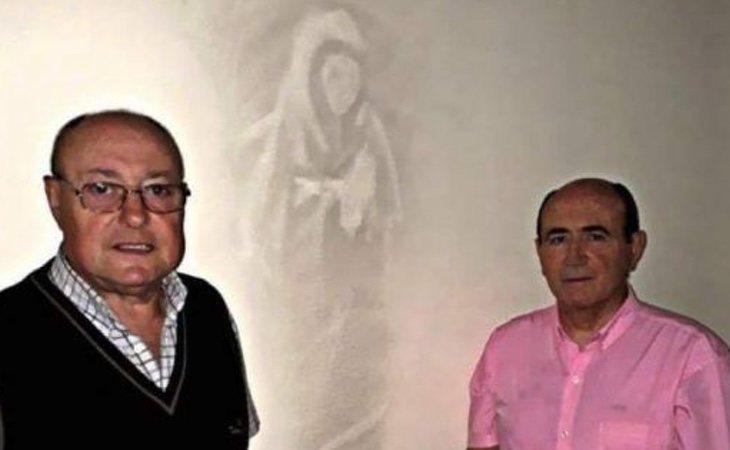 Las fotos con la Virgen pronto se hicieron virales