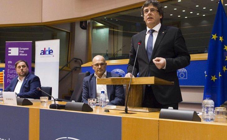 Puigdemont podría optar por conseguir un escaño en el Parlamento Europeo para no abandonar la política definitivamente