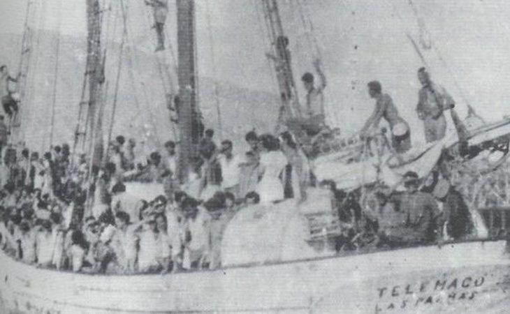 'El Telemaco' logró llegar a Venezuela con todos los pasajeros a bordo