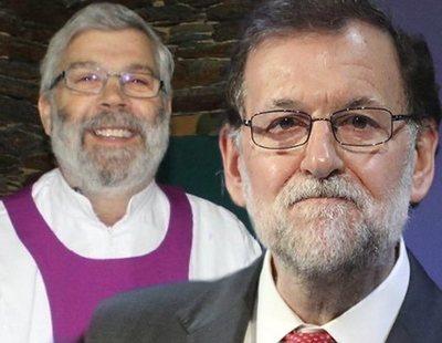 Un cura gallego pide expulsar a Rajoy de la Iglesia por 'usurero'