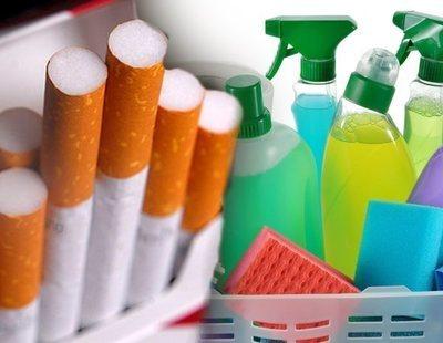 Usar determinados productos de limpieza puede ser tan dañino como fumar 20 cigarros al día
