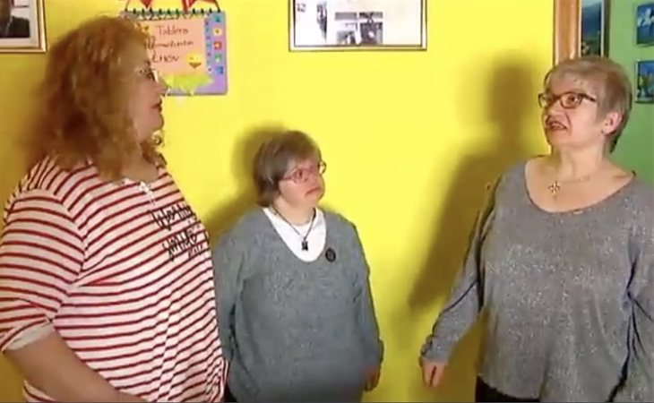 Irene y Asunción han denunciado la discriminación que sufrió su hermana Juli