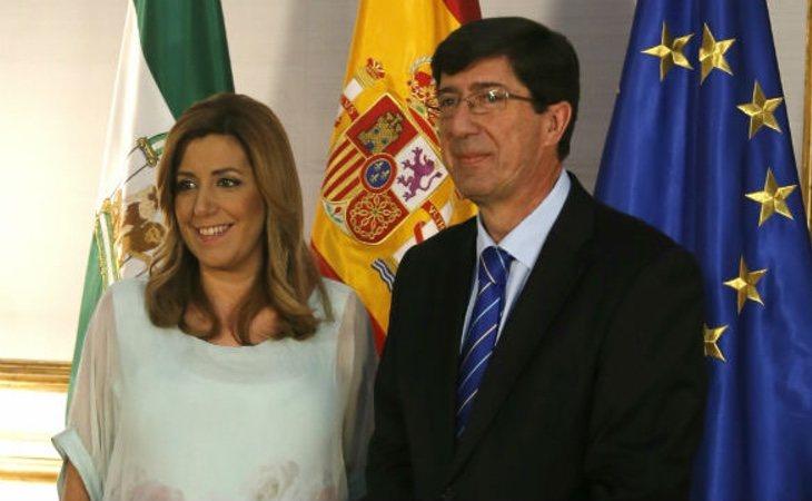 El líder naranja en Andalucía, Juanma Marín, mantiene el gobierno de la Junta