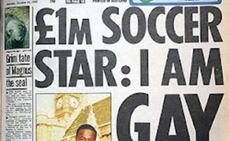 En 1990 Fashanu decidía salir del armario en prensa