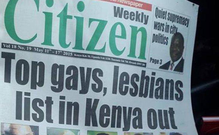 La portada de Weekly Citizen fue criticada por organizaciones LGTBIQ+ de todo el mundo
