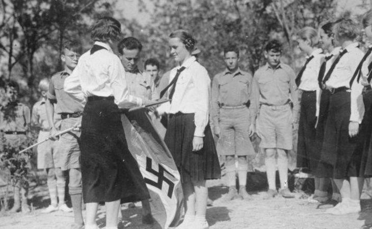 La Liga de Muchachas Alemanas se creó en 1930