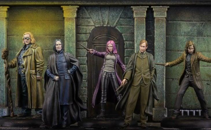 Otros personajes de la saga también tienen una versión muy fiel en miniatura