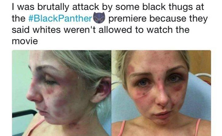La chica de la imagen es una adolescente que fue encerrada y torturada por su novio durante horas