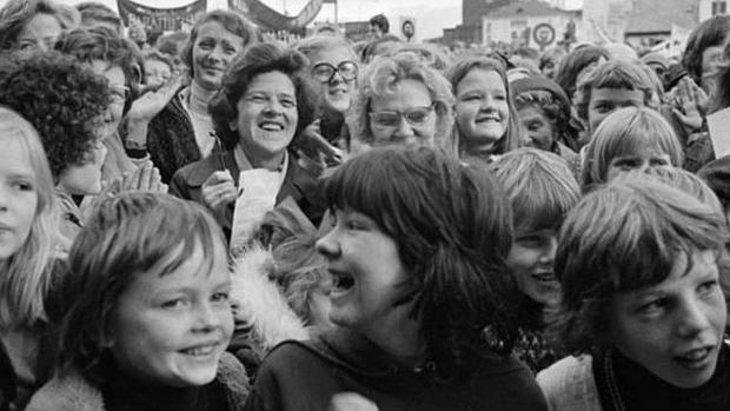 'El día libre de la mujer' en Islandia