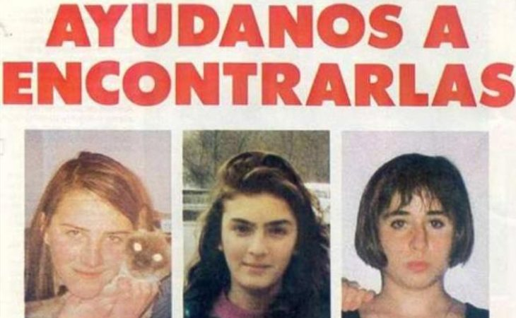 Desirée, Miriam y Toñi, las niñas de Alcàsser