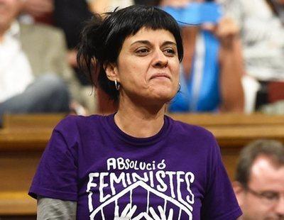 El juez ordena la detención de Anna Gabriel, fugada en Suiza
