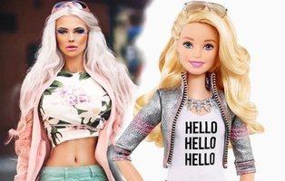 Una chica se gasta mil euros al mes para parecerse a la Barbie con el apoyo de sus padres