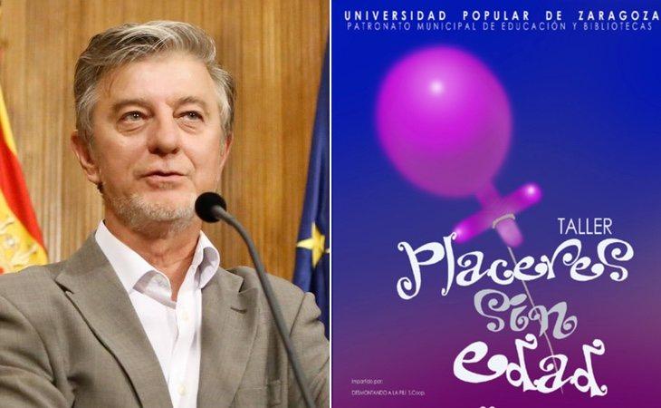 Pedro Santisteve es el alcalde de Zaragoza y ha impulsado el taller 'Placeres sin edad'