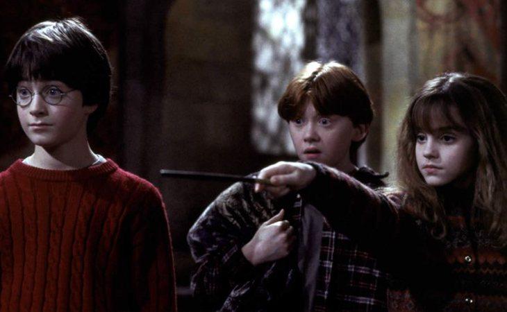 Harry, Ron y Hermione, protagonistas de la saga mágica