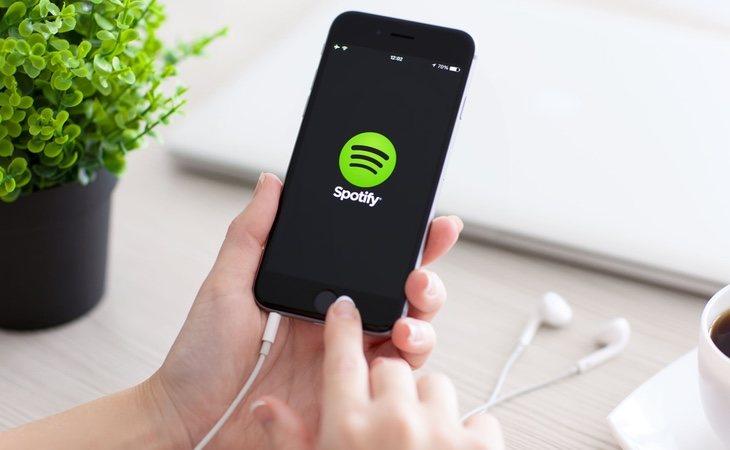 Spotify es un servicio streaming y un simple intermediario