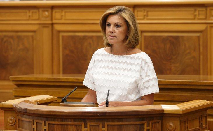 María Dolores de Cospedal, presidenta de Castilla-La Mancha entre 2011 y 2015