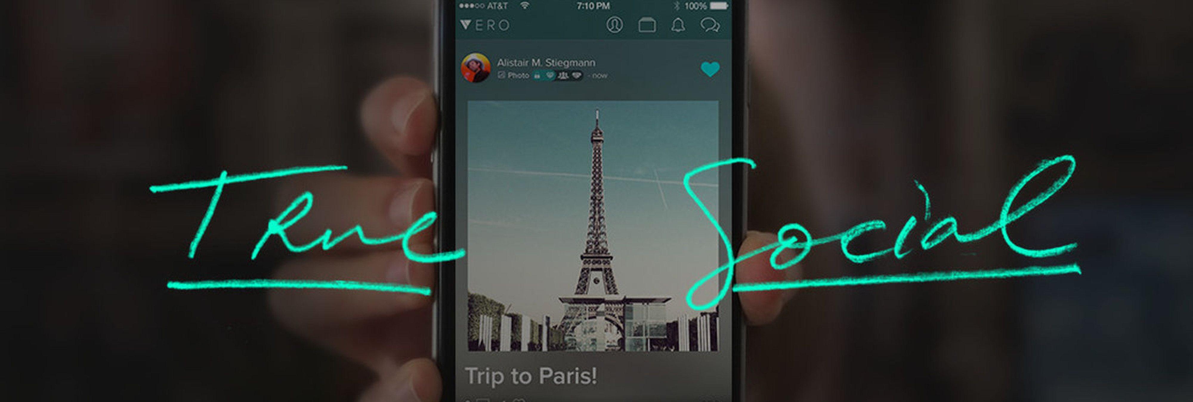 Vero, la nueva red social que quiere sustituir a Instagram