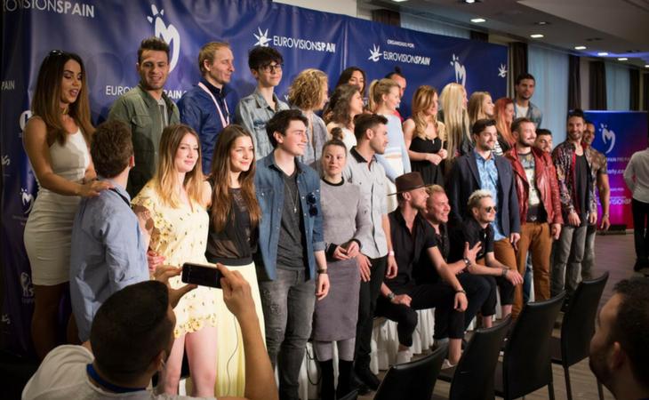 Artistas eurovisivos participantes en la EsPreParty2017