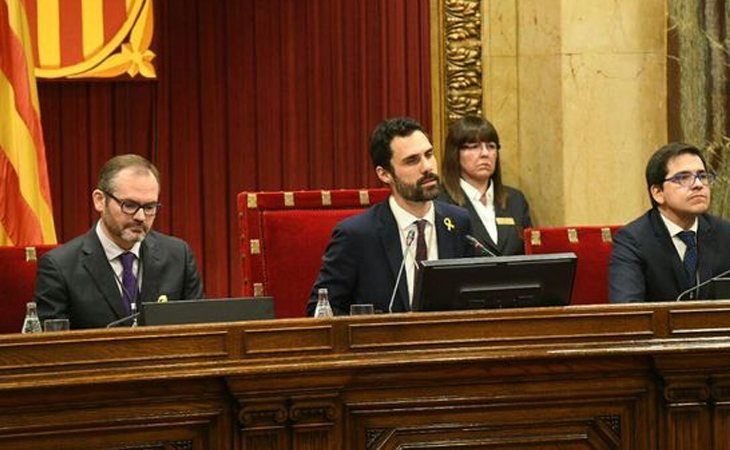 Roger Torrent, presidente de la Mesa del Parlament