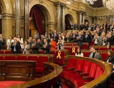 La Mesa del Parlamet ratifica la enmieda de la CUP para reafirmar la DUI