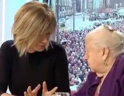 Susana Griso intenta dar lecciones políticas a una pensionista y las redes se le echan encima