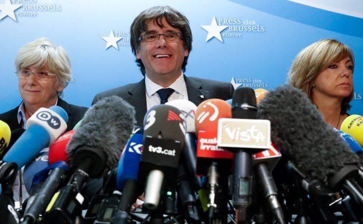 Puigdemont tiene intención de encabezar una lista electoral si se repiten elecciones