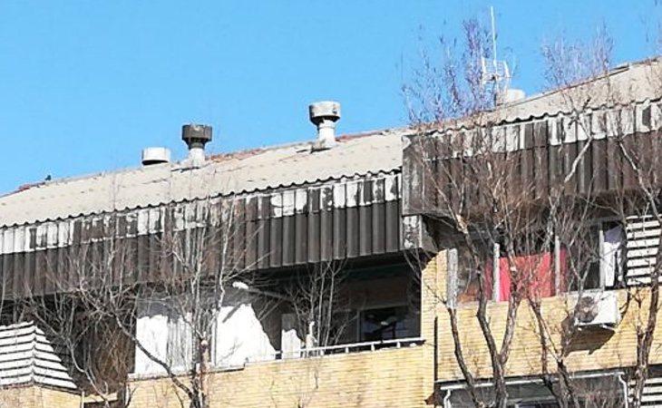 Los tejados se vuelven blancos y aumentan la libeción de partículas cancerígenas
