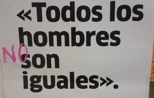 """""""Todos los hombres no son iguales. Antes piensa"""": la polémica campaña de La Rioja para la huelga feminista"""
