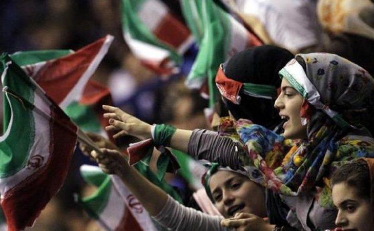 Las mujeres iraníes sólo han podido acudir al fútbol masculino una vez desde 1979