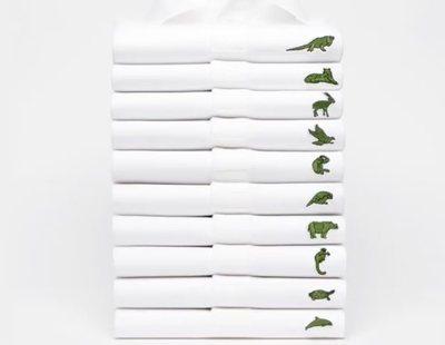 Lacoste sustituye su cocodrilo por las 10 especies más amenazadas del planeta