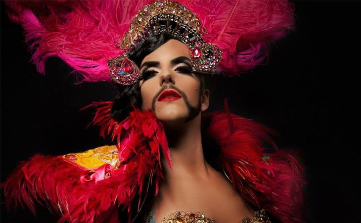 Venedita Von Dash, la bearded queen