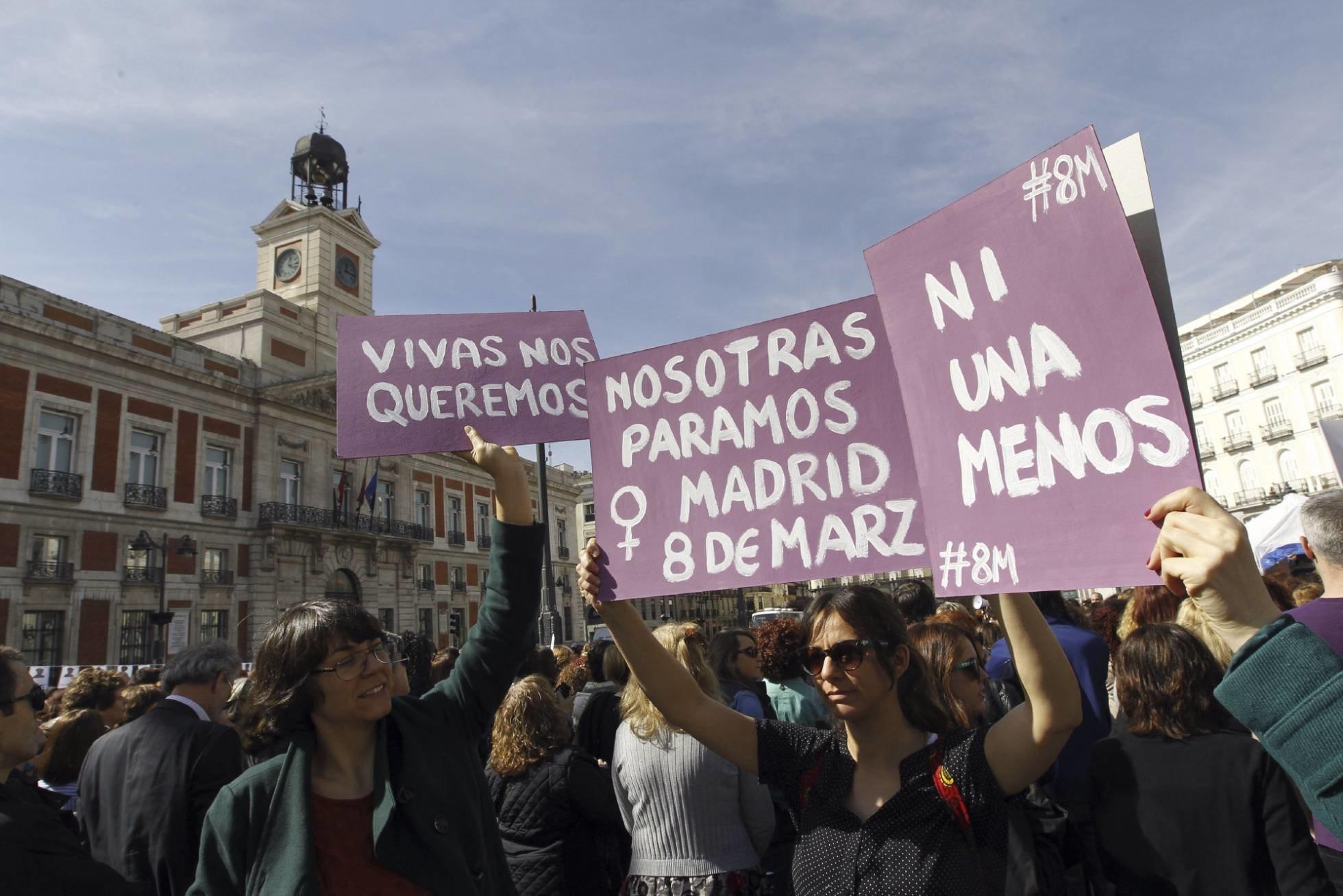 En las manifestaciones, respeta la visibilidad de las mujeres
