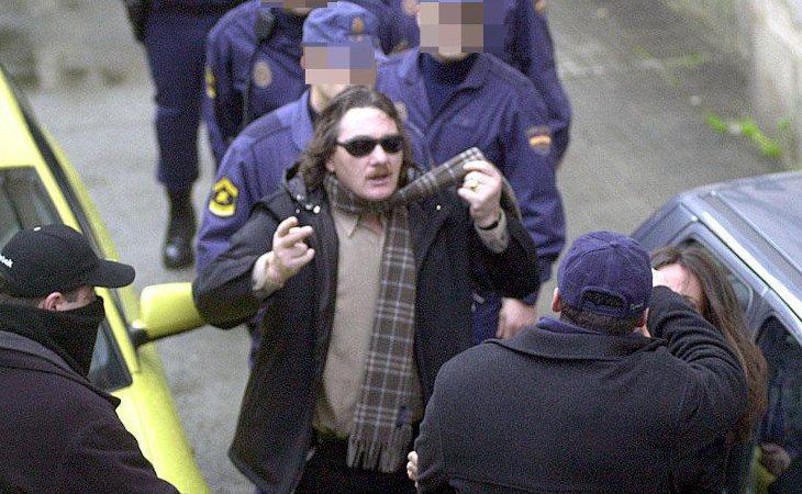 Sito Miñanco, detenido en 2001