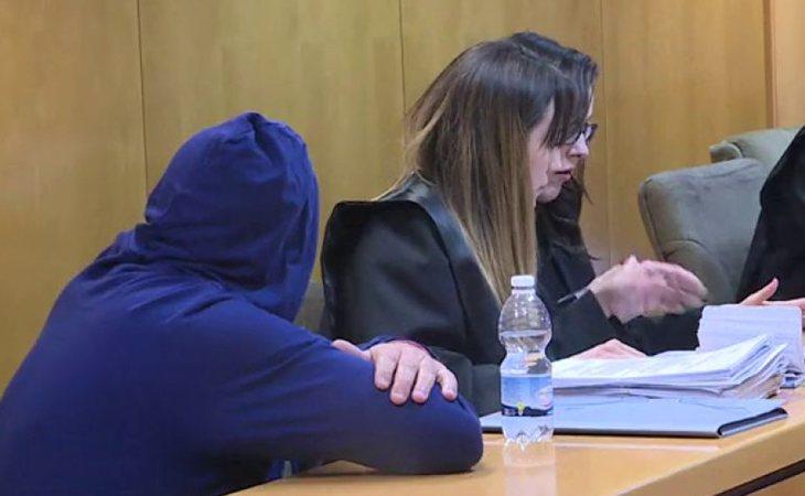 Imágenes del juicio contra Raúl G.G.